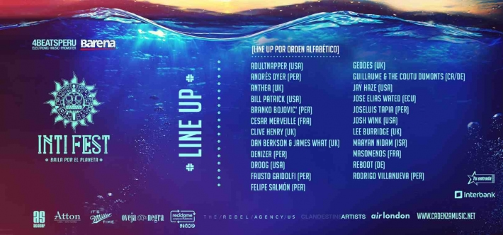 Inti Fest Lineup 2013