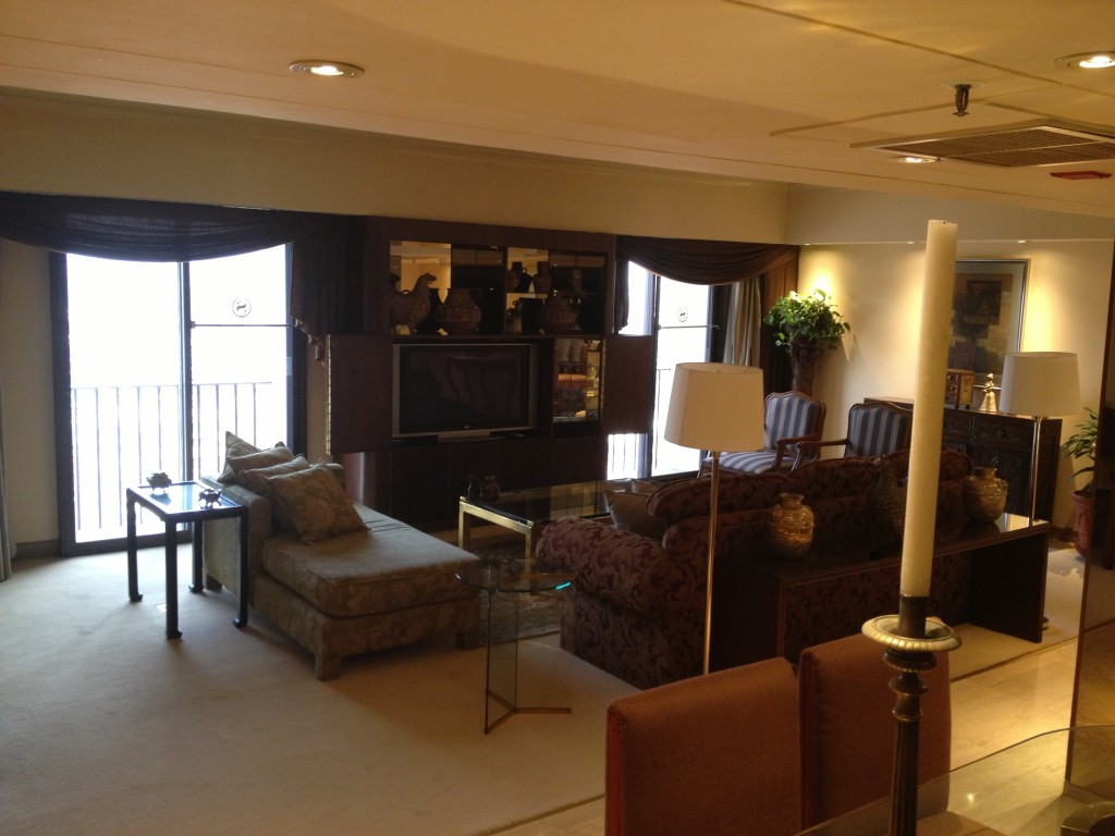 Living Room in Suite at Sheraton Lima