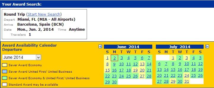 United Award Calendar