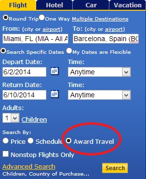 United Award Search