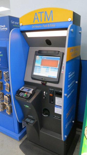 Walmart Moneypass Kiosk