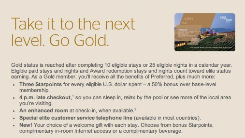 SPG Gold Benefits