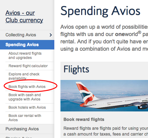 BA Book Flights