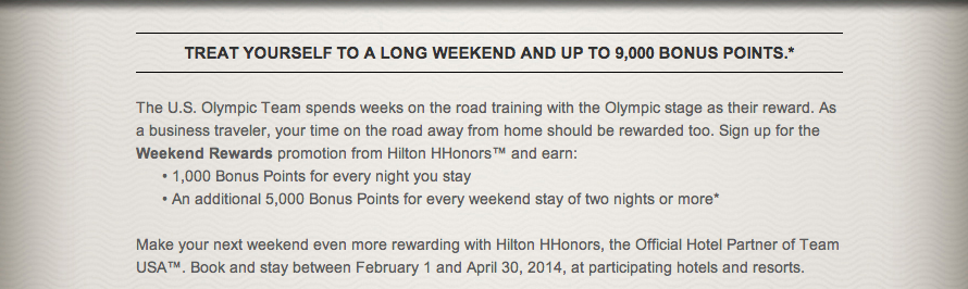 Hilton Weekend
