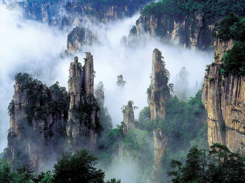 Tianzi Mountain 1