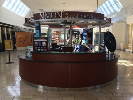 Simon Mall Gift Card Kiosk