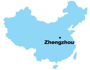 Zhengzhou Map