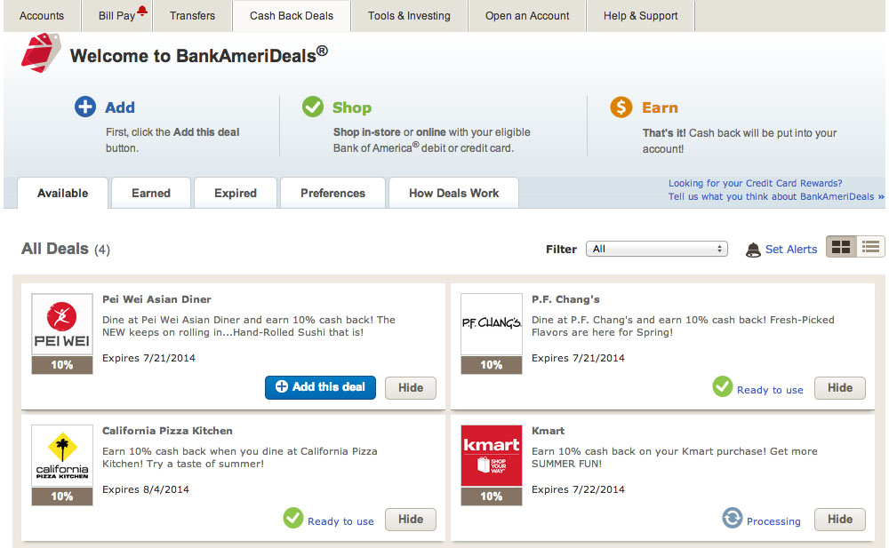 BankAmeriDeals