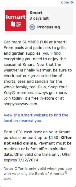 KMart Details
