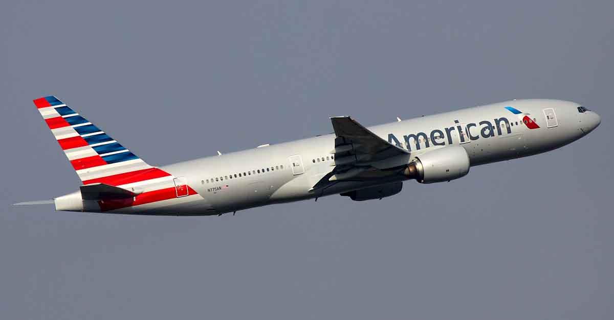 AA Plane Link