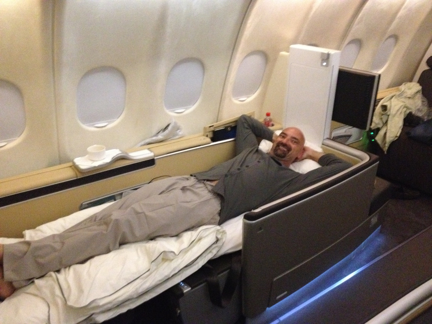 I like to redeem my miles for First Class International travel!